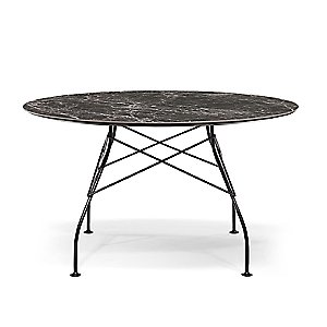 Glossy Round Table by Kartell