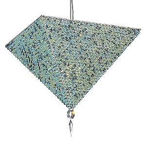 Vertex Large Pendant by Schonbek Lighting