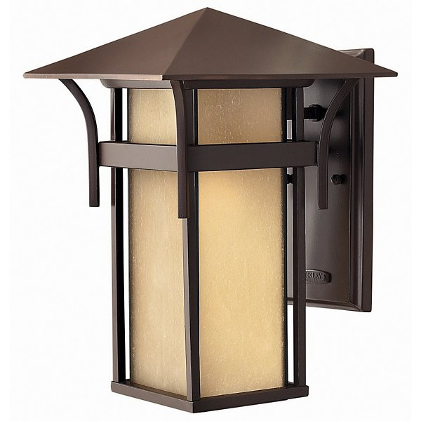 Hinkley Harbor Outdoor Wall Sconce - Color: Bronze - Size: Small - 2574AR-LED -  Hinkley Lighting