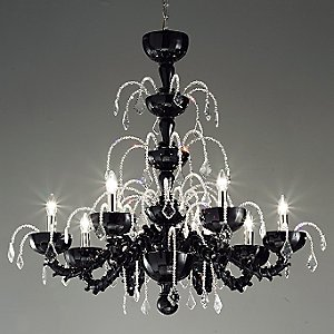 Couture L8 Chandelier by Leucos Lighting