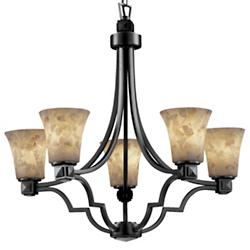 Alabaster Rocks! Argyle Chandelier