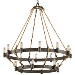 Pike Place 2-Tier Chandelier