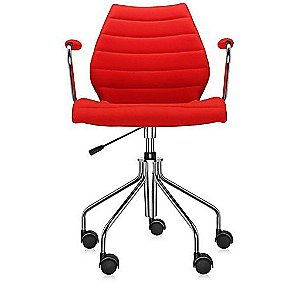 Maui Soft Swivel Armchair Height Adjustable by Kartell