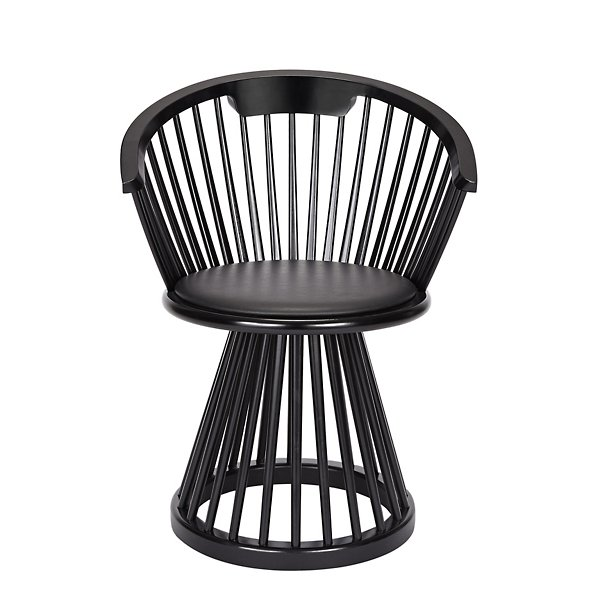 Tom Dixon Fan Dining Chair - FAD01BL - Style: Rustic Modern