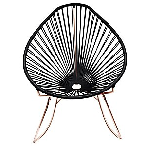 Copper Acapulco Rocker by Innit Designs