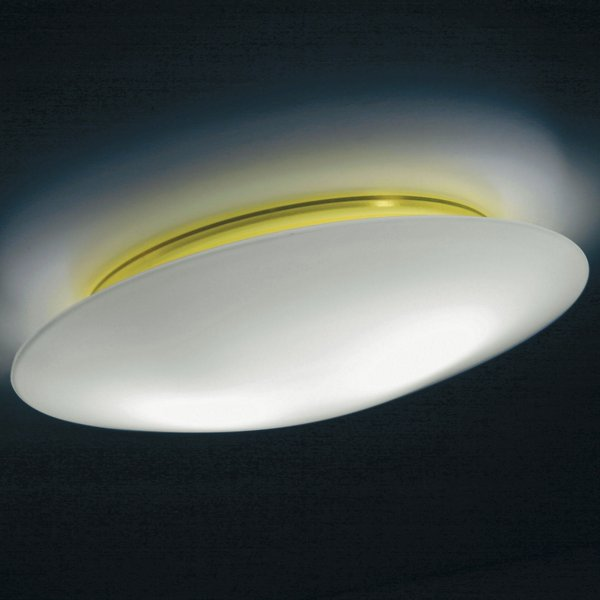 Ai Lati Lights BIS IP44 Wall/Ceiling Light - LL6111GI - Color: Opal - Size: Small