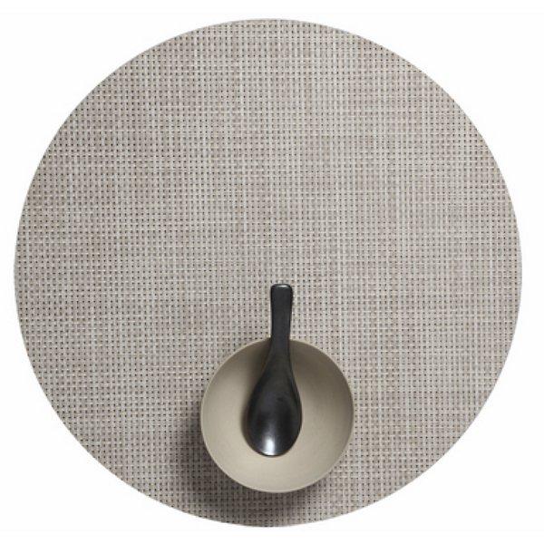 Basketweave Round Placemat
