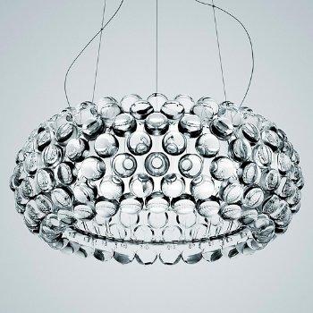 Shown in Transparent, Medium size, lit