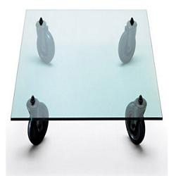 Rectangle Tavolo con ruote Coffee Table