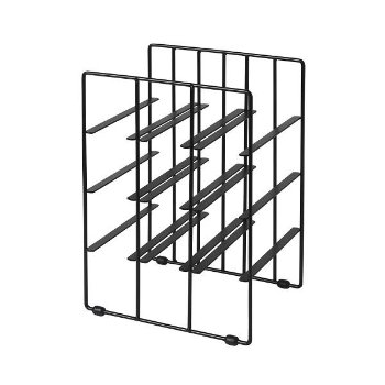 Shown in Powder Coated Black finish, Small size
