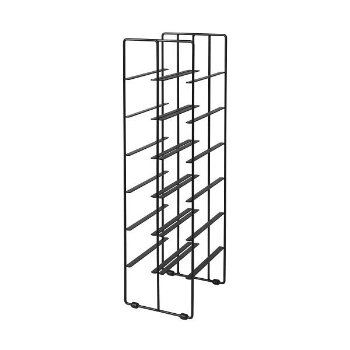Shown in Powder Coated Black finish, Large size