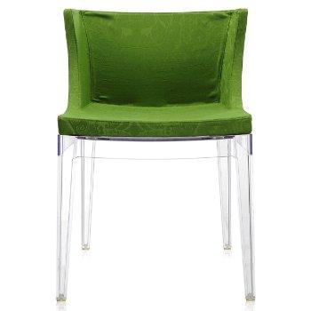 Shown in Green damask, Transparent frame