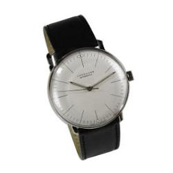 Max Bill Automatic Wrist Watch with Lines