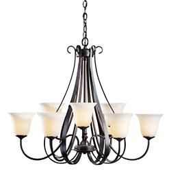 Sweeping Taper Chandelier