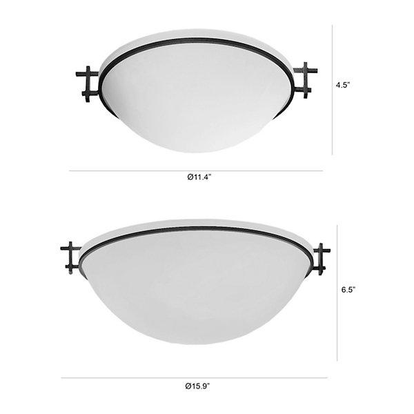 Moonband Flushmount