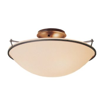 Shown in Burnished Steel finish with Sand Glass color