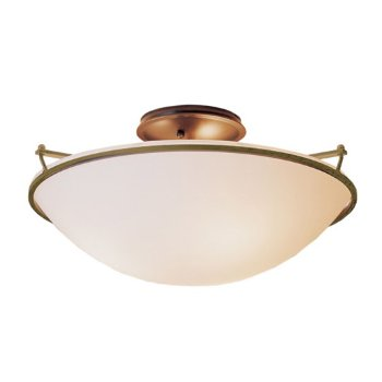Shown in Gold finish with Opal Glass color