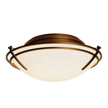 Shown in Gold finish, Opal glass color