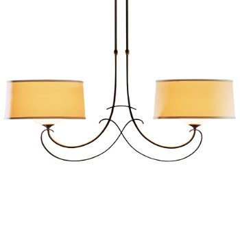 Shown in Natural Anna Shade color with Mahogany finish, Large size