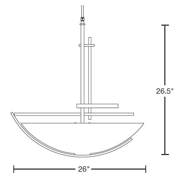 Ondrian Large Bowl Pendant