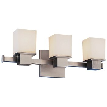 Shown in Satin Nickel finish, 3 Light