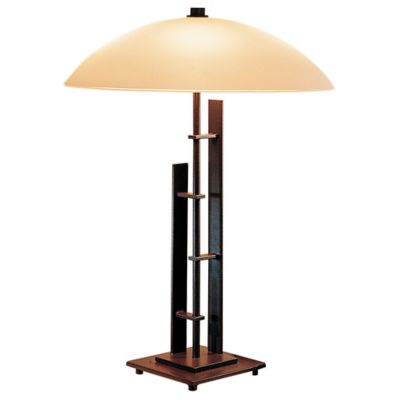 Metra Double Table Lamp With Glass By Hubbardton Forge At Lumens.com