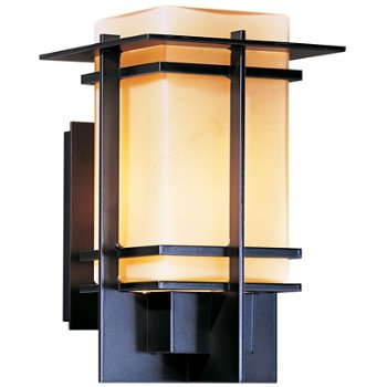 Shown in Opaque Dark Smoke finish with Opal shade, Medium size