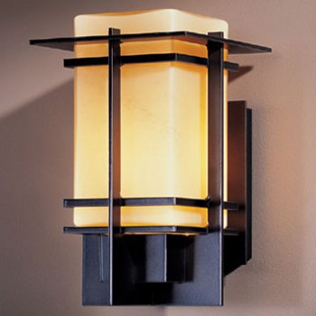 Shown in Black finish with Opal shade, Small size
