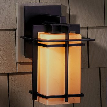 Shown in Opaque Bronze finish with Stone shade, Large size