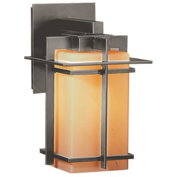 Shown in Stone Glass color, Opaque Burnished Steel finish, Small size