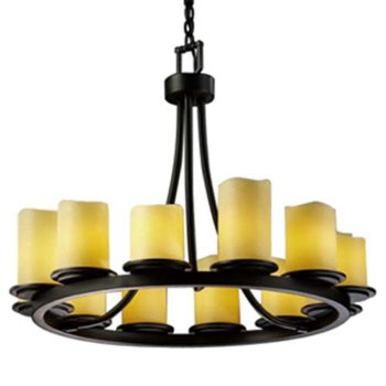 CandleAria Dakota 12 Light Chandelier