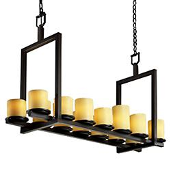 CandleAria Dakota Double Bar Linear Suspension