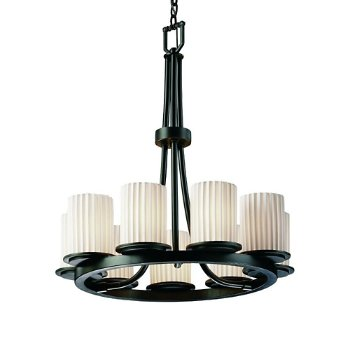 Limoges Dakota 9 Light Ring Chandelier