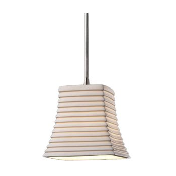 Limoges Mini Square Flared Pendant