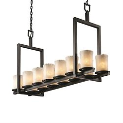 Veneto Luce Dakota Double Bar Linear Suspension
