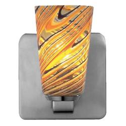 Carnevale Taupe Feather Quadro ADA Wall Sconce