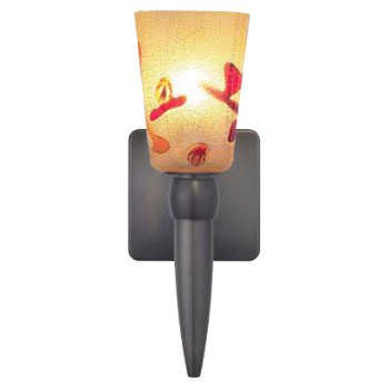 Carnevale Kandinsky Gold Torch Wall Sconce