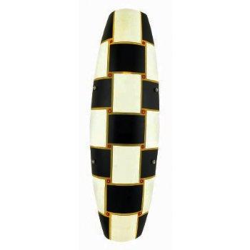 Shown in Tessere, Black, White and Murrina glass