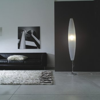 Shown lit in Chrome finish