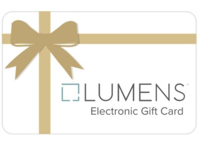 Lumens Gift Card By Lumens Light And Living At Lumens.com
