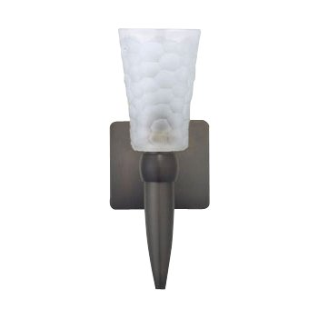 Oasis White Torch Wall Sconce