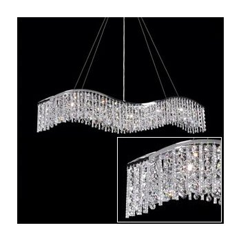 Broadway Wave Suspension with Alternating Icicles