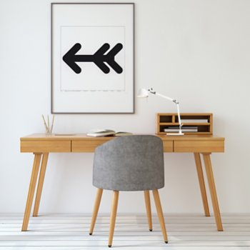 Shown in White finish, Table Base, in use
