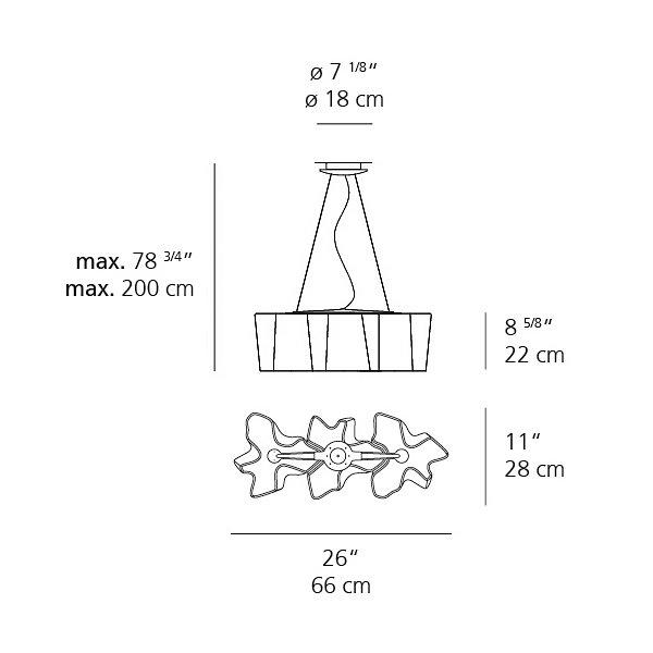 Logico Mini Triple Linear Suspension