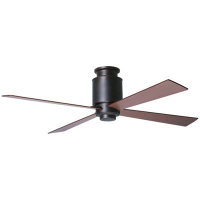 lapa flushmount dark bronze ceiling fan by modern fan company at lumenscom