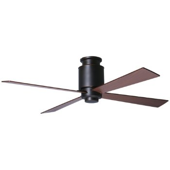 Lapa Flushmount Dark Bronze Ceiling Fan By Modern Fan