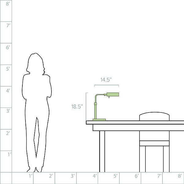 Tenda Pharmacy Table Task Lamp