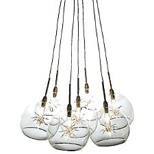 Starburst Multi-Light Pendant Light