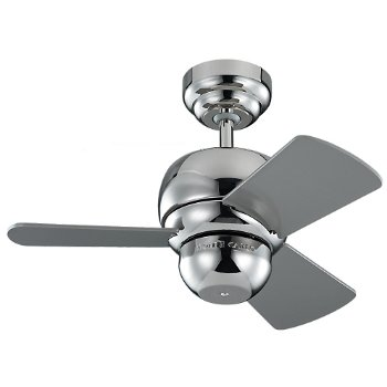 Shown in Polished Nickel finish with Silver blades