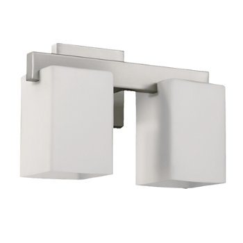 Shown in Satin Nickel with Satin Opal finish, 2 Inch